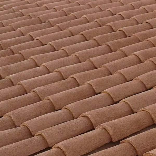 corcho proyectado en tejados